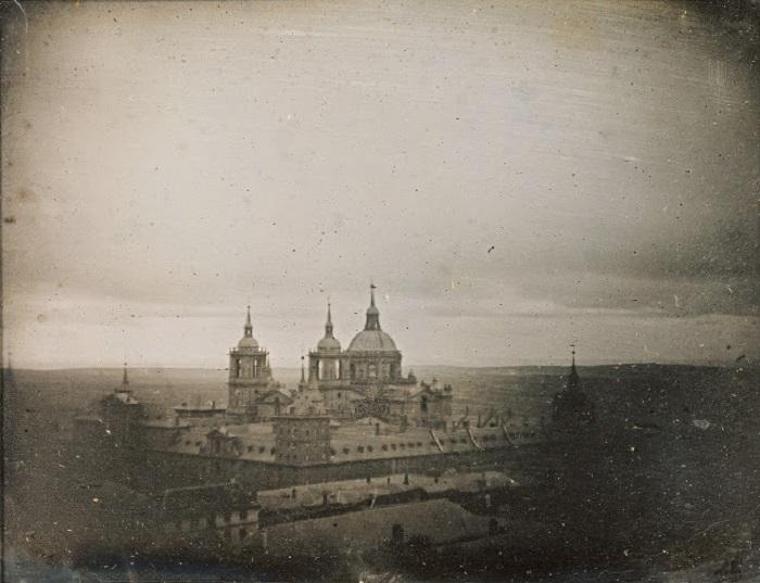 Королевская резиденция испанских правителей, 1845 год.