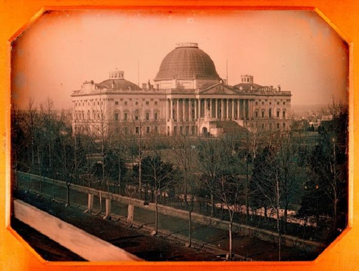 Здание Капитолия - символ свободы и демократии США, 1846 год.