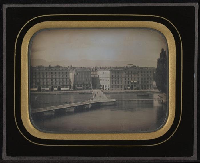 Женевское озеро, 1847 год.