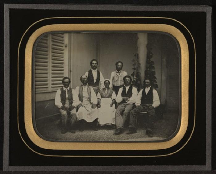Фотография Жана-Габриэля Эйнара, Швейцария, 1847 год.