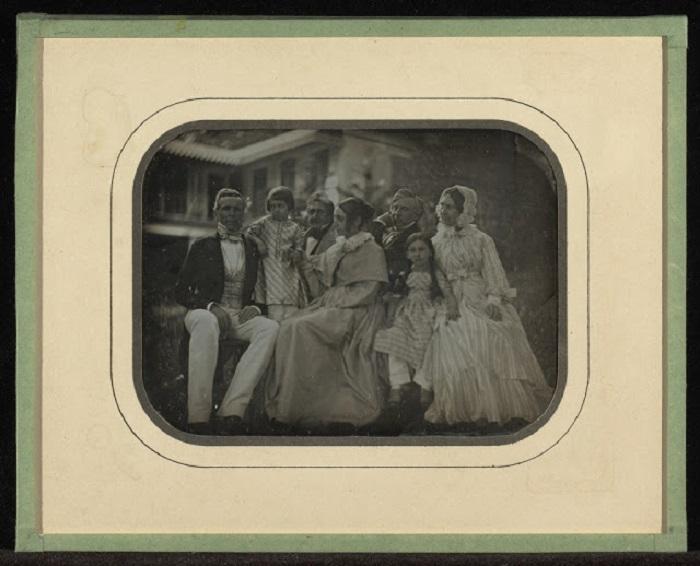 Члены семейства швейцарского банкира, 1847 год.