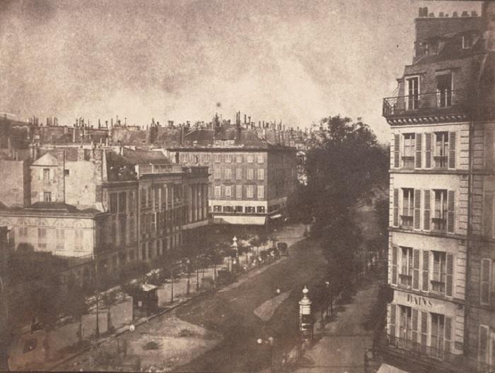 Прекрасный вид на Париж, 1843 год.