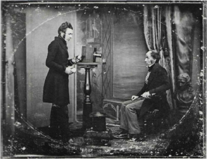 Дагерротипная портретная студия Ричарда Берда, 1843 год.