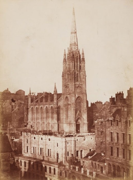 Эдинбург, Шотландия 1848 год.