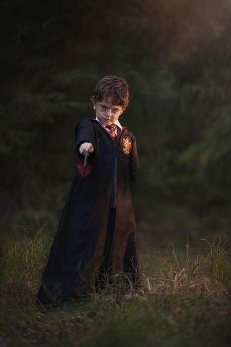 Популярный герой Гарри Поттер давно уже стал кумиром, как детей, так и взрослых.