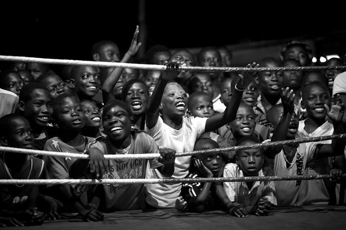 Давние традиции бокса в Гане. Фотограф: Патрик Синкел (Patrick Sinkel), Германия.