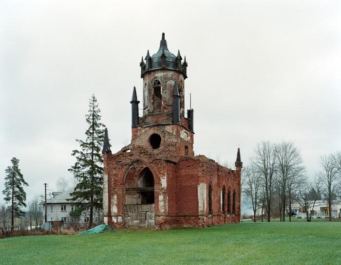 Церковь в деревне Марьино Ленинградского района. Фотограф: Пётр Антонов (Petr Antonov), Россия.
