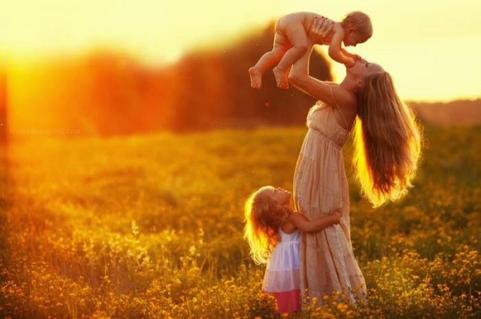 Мамина любовь безгранична.