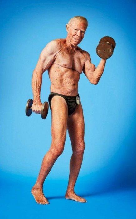 Джим Аррингтон в 85 лет не собирается останавливаться на достигнутом и активно готовится к следующим соревнованиям.