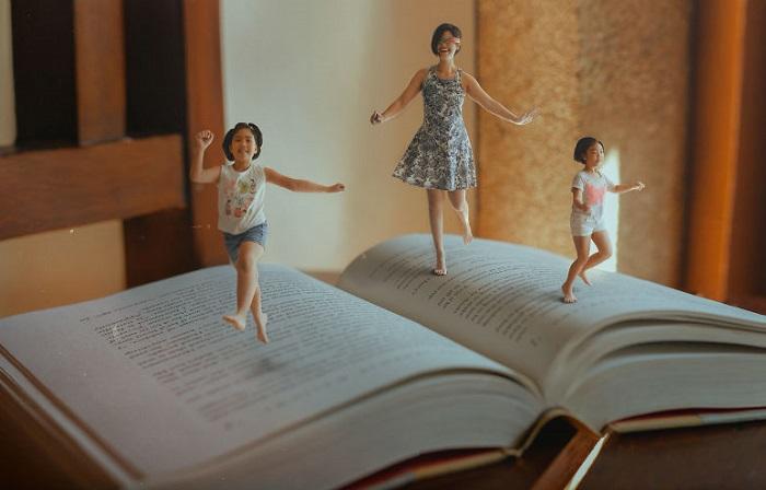 Героиня снимков Катрина Юй (Katrina Yu)уверена в том, что возможности человеческого воображения безграничны.
