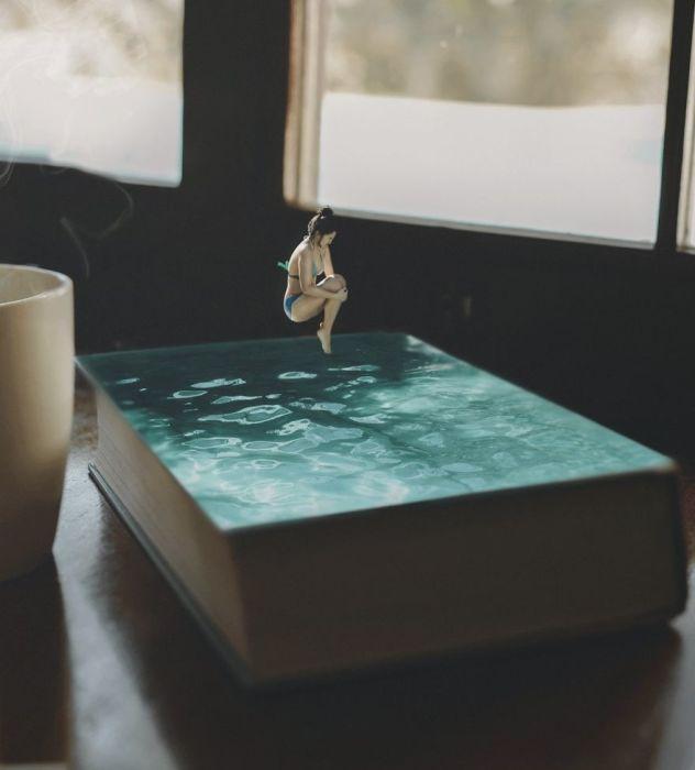 Как здорово окунуться в прохладные воды, которые так и манят к себе.