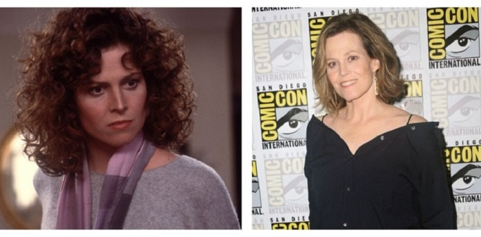 На роль Даны Барретт в фильм «Охотники за привидениями» была приглашена знаменитая голливудская актриса Сигурни Уивер.
