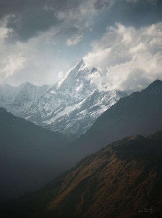 Ganesh Himal. Nepal.