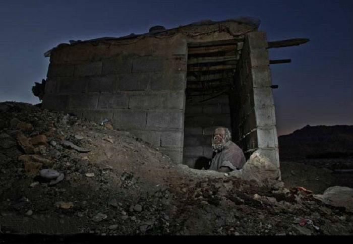 Хаджи живет в полном одиночестве в деревне Деджга в южной иранской провинции Фарс.