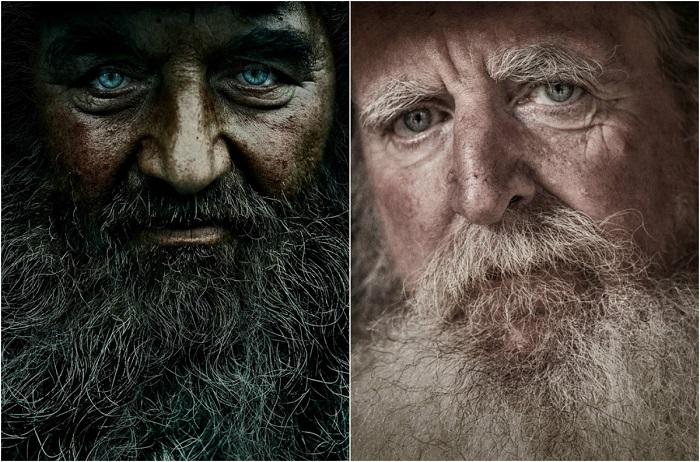 Портреты бородачей.