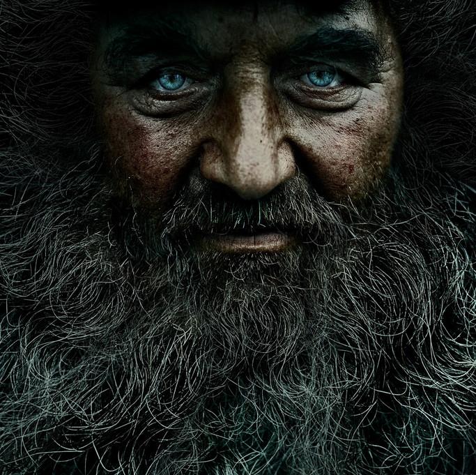 Мистический взгляд голубых глаз. Фотограф: Андрей Жаров.