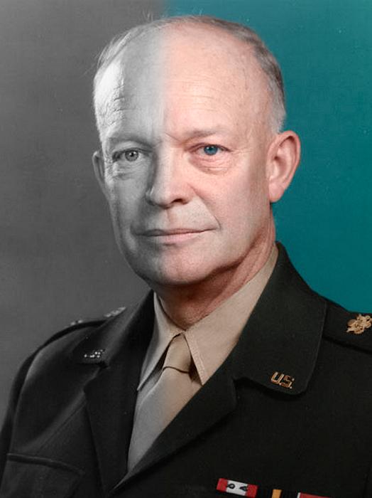 Государственный и военный деятель, 34-й президент США.