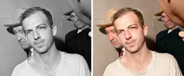 Арестован по подозрению в убийстве 35-го американского президента США Джона Кеннеди.