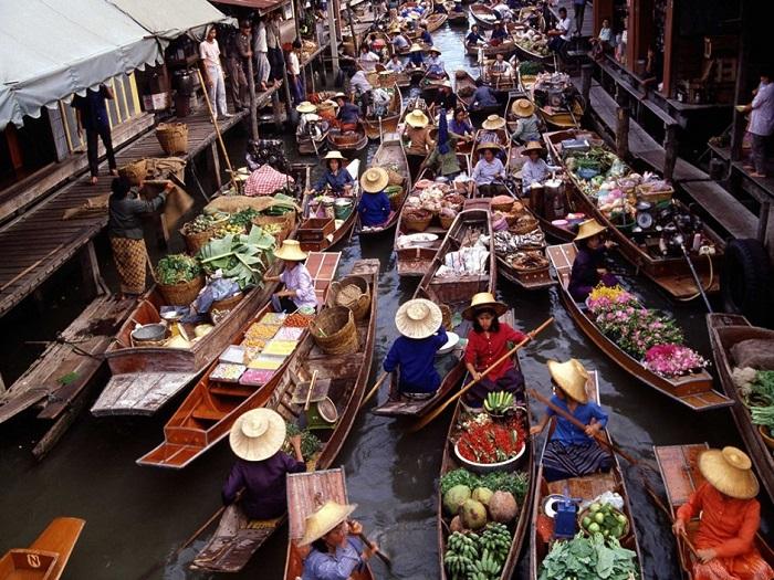 Тон Хем является самым популярным рынком среди туристов.