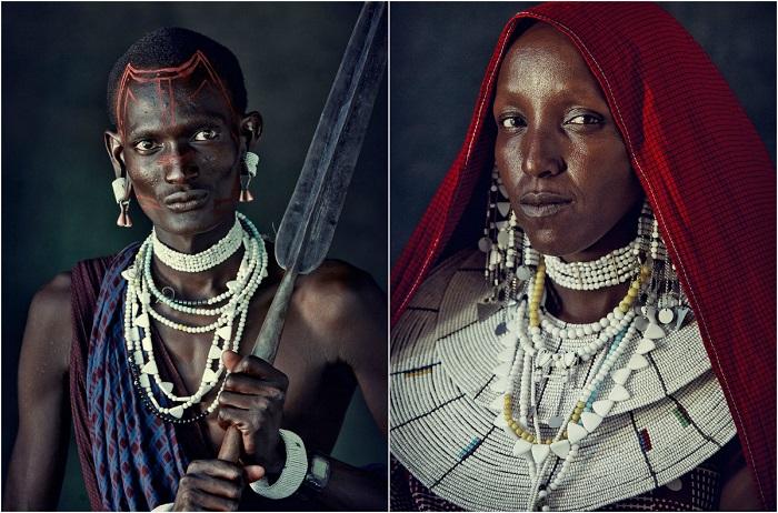 Африканское племя Масаи.