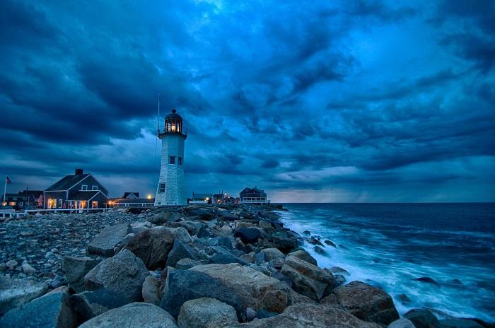 Маяк Ситуэйт является одиннадцатым из самых старинных маяков в Соединенных Штатах.