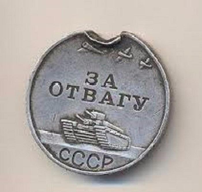 Популярная и ценная медаль среди фронтовиков.
