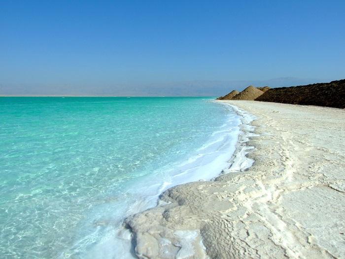 """Море называется """"мёртвым"""", потому что из-за высокого содержания соли в нём не может жить ни рыба, ни другие организмы."""