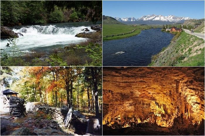 Живописные места, где можно провести весенний отпуск.
