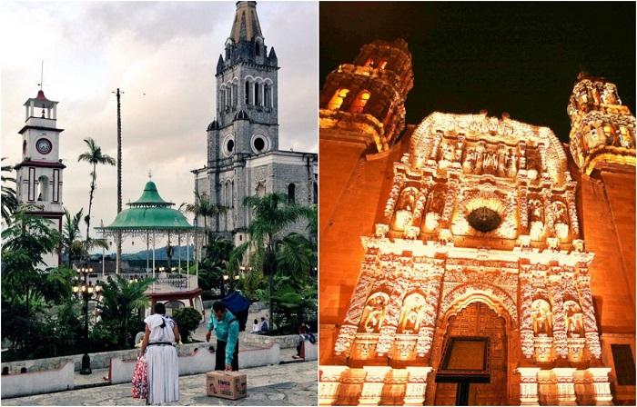 Зрелищные достопримечательности Мексики.