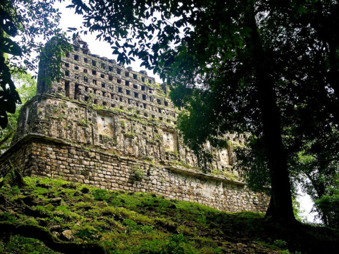 Окутанный лианами старинный город древней цивилизации майя, который находится у реки Усумасинта, загадочно опустел в еще в 9 веке.