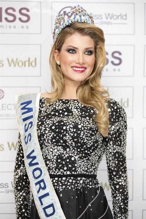 Испанская модель и участница конкурсов красоты, победительница международного конкурса «Мисс Мира» 2015 года.