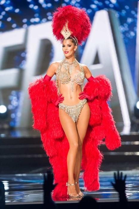 Мисс Франция, Ирис Миттенар, 24-летняя победительница конкурса