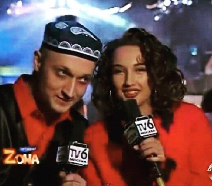 В 1995 году 28-летний Куценко и 24-летняя Кудрявцева были ведущими молодежной передачи «Партийная зона».