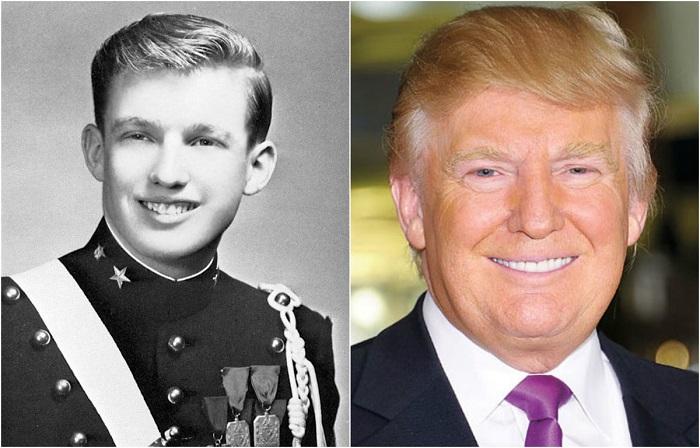 Самым богатый человек, вступивший в должность 45-ого президента Соединённых Штатов Америки.