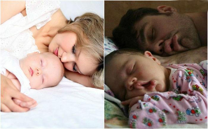 Залог здоровья малыша – спокойный крепкий сон.