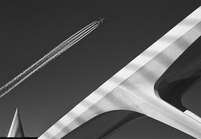 Нидерландский фотограф Марсель ван Балкен (Marcel van Balken) помимо главного приза получил и поощрительную премию за удачный снимок летящего самолета.