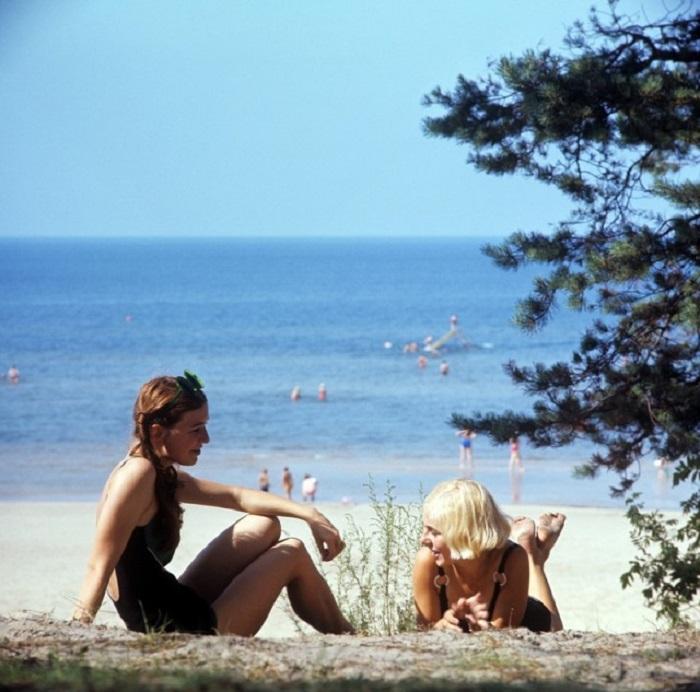 На Балтийском побережье.
