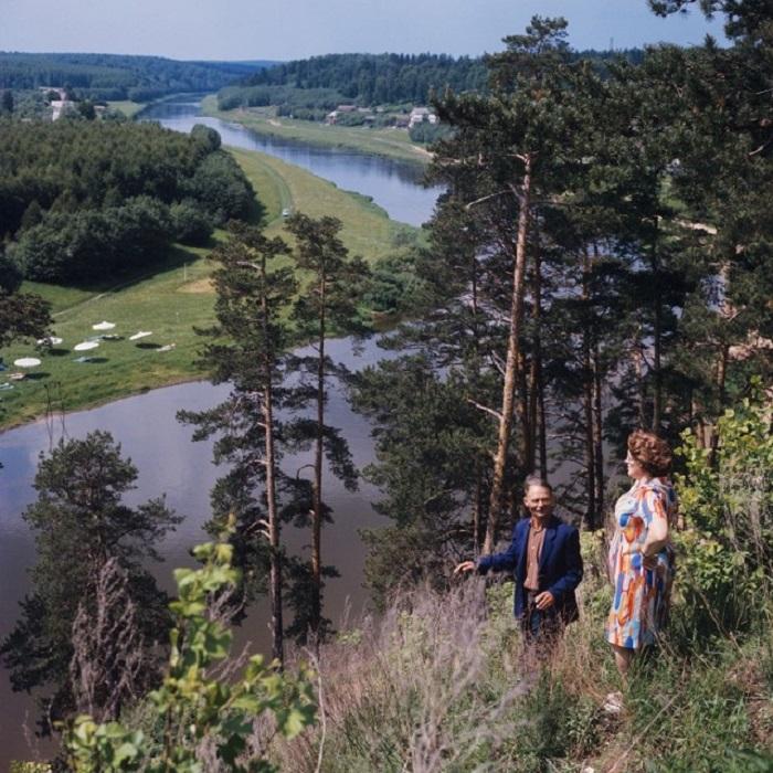 Река Руза, Подмосковье.