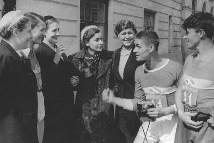 Снимки Москвы 1918-1991 годов.