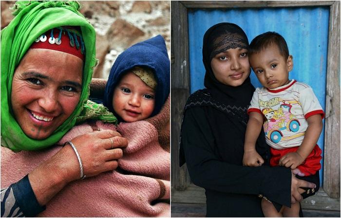Колоритные снимки матерей от фотографа Паскаля Маннаертса.