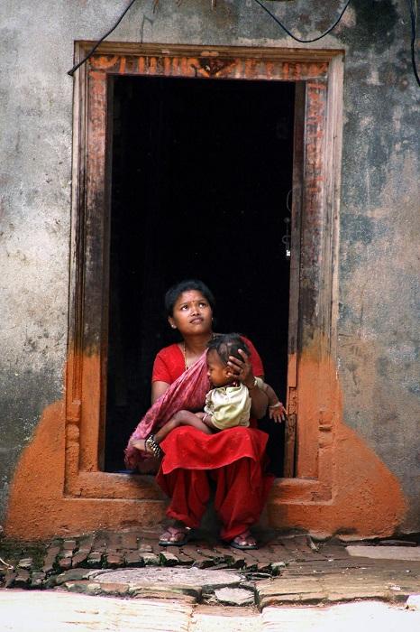Момент вечности в старом городе Бхактапур.
