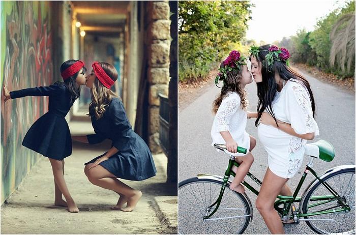 Особая взаимосвязь между матерями и дочерьми.