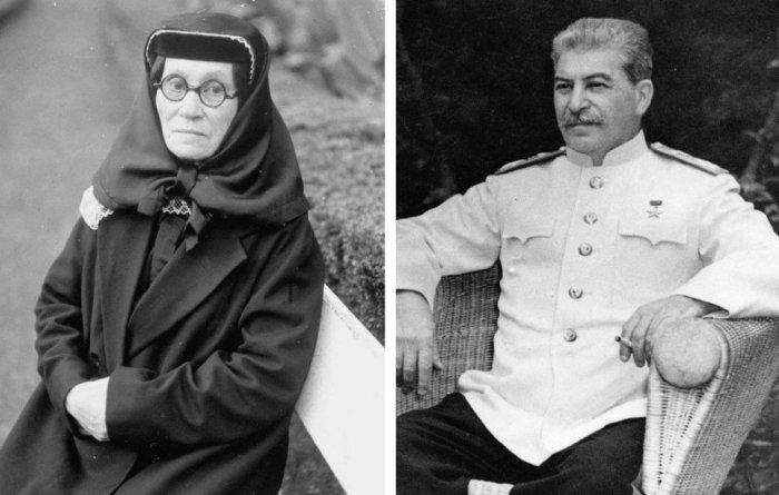 Мать Сталина была крайне строгой и жестокой женщиной.