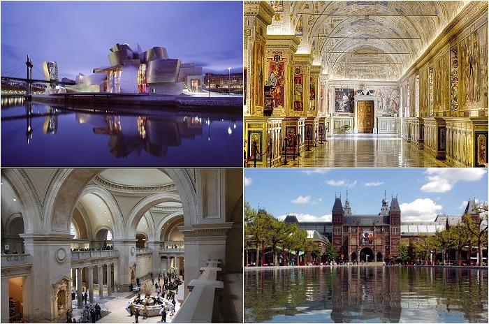 Лучшие музеи мира.