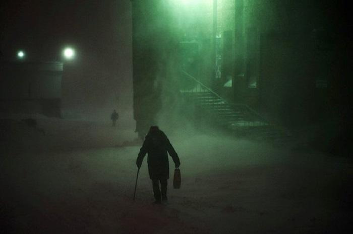 280 дней в году продолжается холодный период.