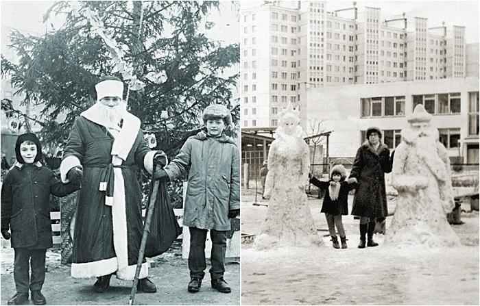 Новый год - это обязательно Дед Мороз и ёлка.