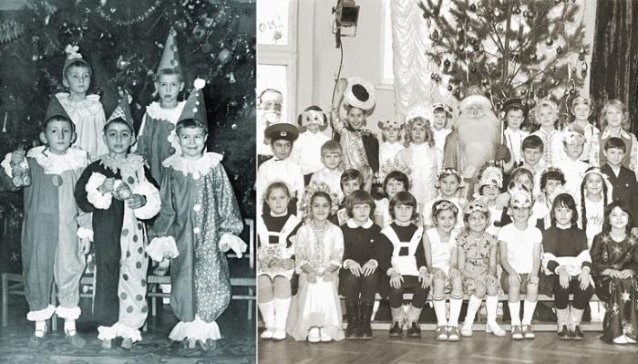 Костюмы, в которые облачались малыши, отличались большим разнообразием.
