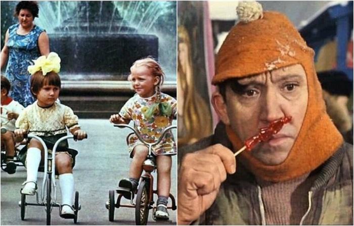 Всё это было в советском детстве.