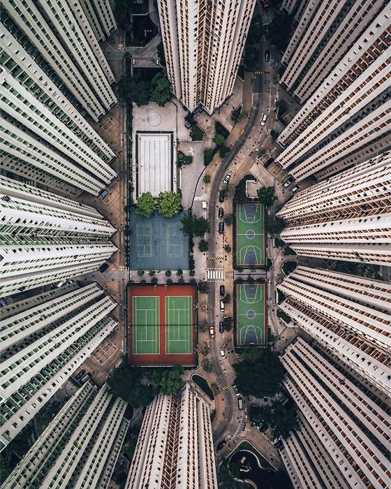 Сложные условия жизни Гонконга, Китай. Автор фотографии: Гэри Камминс (Gary Cummins).