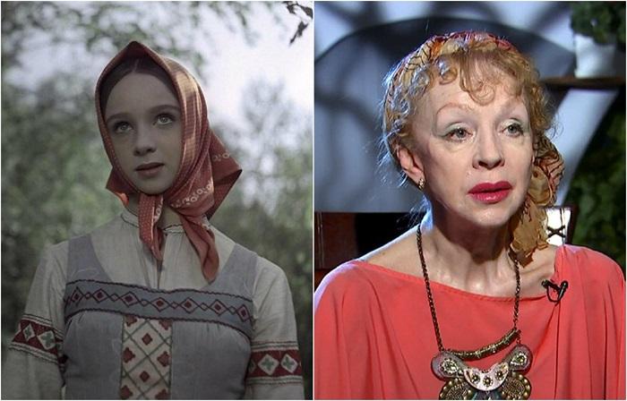 Советская и российская актриса кино и театра, балерина, сыграла много ролей в театре и кино, но узнаваемость у зрителей завоевала именно ее Настенька – главная героиня сказки «Морозко».